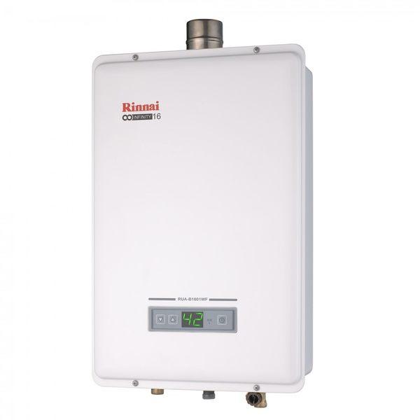 [家事達] 林內RUA-B1301WF 強制排氣式 數位恆溫瓦斯熱水器-13L 特價