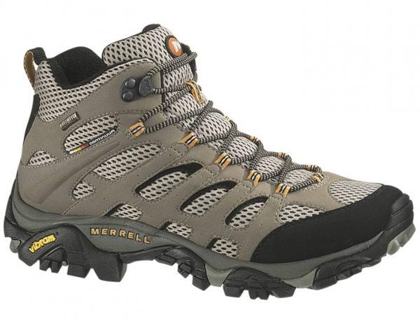 【山水網路商城】Merrell 美國 Moab Mid GORE-TEX 多功能健行鞋/男款/防水越野登山鞋 ML87311