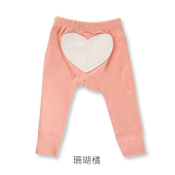 有機棉 長褲 澳洲 Sapling Child 有機棉背面愛心長褲 - 粉色系