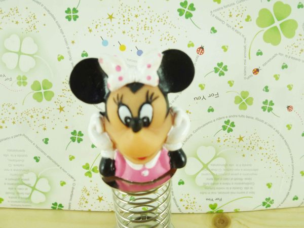 【震撼精品百貨】Micky Mouse_米奇/米妮 ~彈跳文件夾-米妮