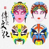 國粹臉譜中國風兒童京劇面具套裝創意手工制作DIY材料包粘貼畫小明同學