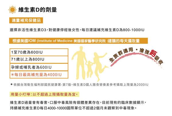 2入組 特益康高單位維他命D 陽光D3-800IU 60錠【瑞昌藥局】015890 非活性維生素D3