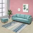 布藝沙發小戶型客廳北歐簡約現代單人雙人懶人臥室出租房用網紅款  一米陽光