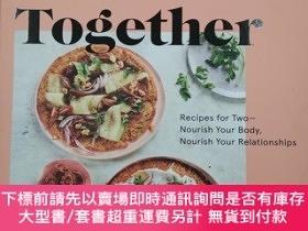 二手書博民逛書店Healthier罕見Together:recipes for two nourish your body nou