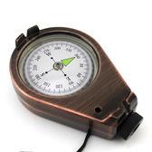 戶外登山指北針車載汽車羅盤指南針品質機芯精度高 QQ722『樂愛居家館』