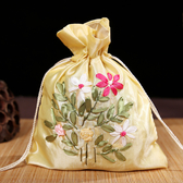 中國風復古絲帶繡抽帶包古典帶流蘇收納袋錦囊喜糖袋結婚婚慶用品