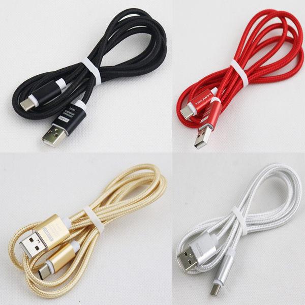 【CHENY】Type-C金屬編織線 HTC M10 LG G5 小米5充電線 下載線 傳輸線 數據線