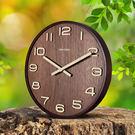 極客庫中式實木質掛鐘靜音客廳辦公古典時鐘錶復古中國風石英掛錶  SSJJG【時尚家居館】