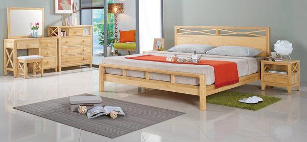 【森可家居】威爾北歐本色單抽床頭櫃 7JF038-1 實木 木紋質感 無印北歐風