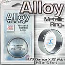 【L-1.75吋-4.5cm】美國CEN Alloy 鋁合金 寬版 超輕量屌環 Metallic Ring