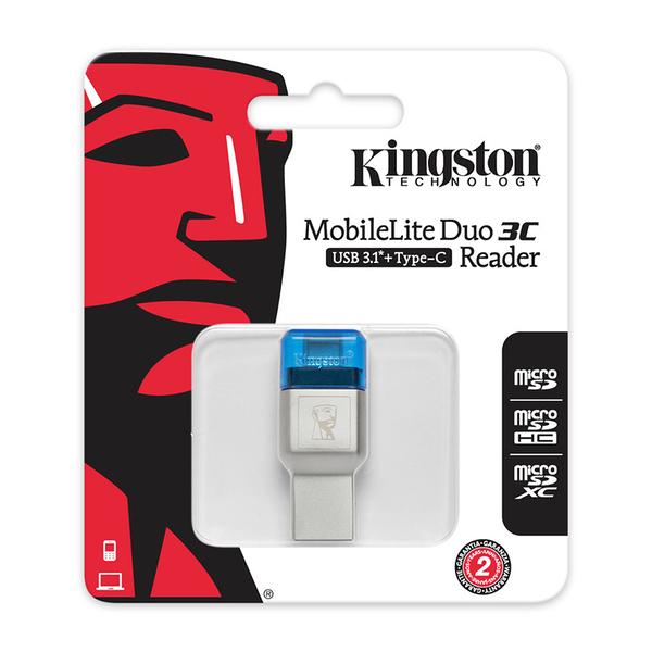 金士頓 ML3C Type-C USB 3.1 MICRO SD 讀卡機 Kingston
