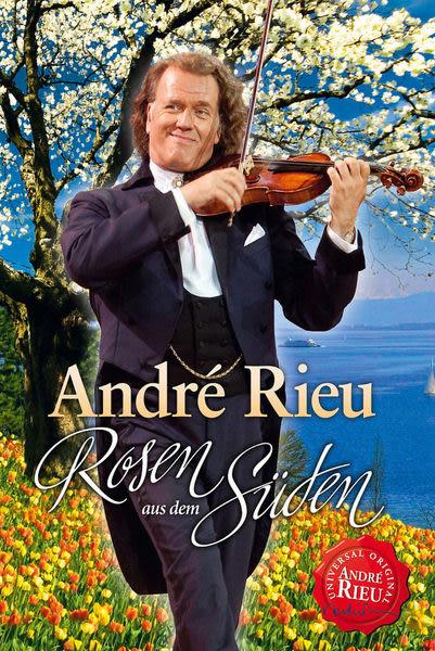 安德烈瑞歐 南國玫瑰 DVD (音樂影片購)