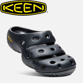 【KEEN 美國 男款 護趾拖鞋《碳纖》】1002036/橡膠鞋/涼鞋/休閒涼鞋★滿額送
