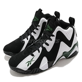 Reebok 籃球鞋 Kamikaze II OG 黑 白 男鞋 運動鞋 復古 【ACS】 FY7512