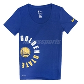 Nike T恤 Gsw Dry Tee 女款 舊金山 金州 勇士隊 Golden State Warriors 【ACS】 926638-495