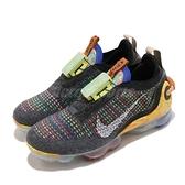 Nike 慢跑鞋 Wmns Air Vapormax 2020 FK 灰 黃 彩色 女鞋 大氣墊 再生材質材質 環保理念 【ACS】 CJ6741-002