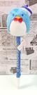 【震撼精品百貨】Tuxedo Sam Sanrio 山姆藍企鵝~造型絨毛原子筆-淺藍*45842