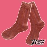 【PolarStar】女 羊毛保暖襪『粉橘』P18610 露營.戶外.登山.保暖襪.彈性襪.休閒襪.長筒襪.襪子