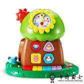 【9個月】早教玩具趣味小樹積木珠算琴鍵嬰幼兒益智玩具店長推薦好康八折