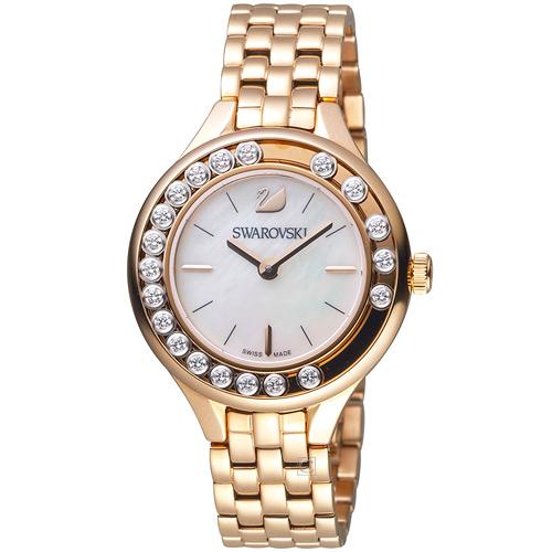 施華洛世奇SWAROVSKI Lovely Crystals Mini 低調奢華飄鑽魅力腕錶 5261496
