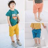 *╮小衣衫S13╭*兒童竹節棉針織五分短褲 1070426