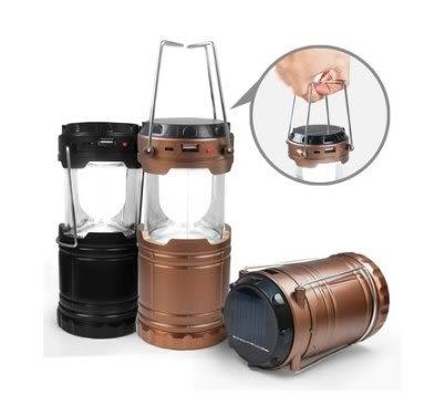 新竹【超人3C】AIBO 太陽能充電/電池 二用 手提式露營燈 檯燈 小夜燈 節能LED燈 低用電 伸縮設計