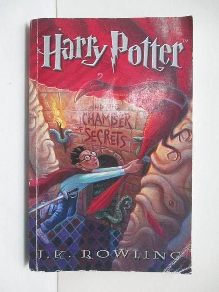 【書寶二手書T1/原文小說_BDN】Harry Potter and the Chamber of Secrets