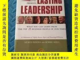 二手書博民逛書店Nightly罕見Business Report Presents Lasting Leadership [精裝]