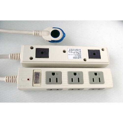安全達人 S-50M6 磁附式雙用插座延長線(6座單切) 1.8M