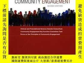 二手書博民逛書店The罕見Principles Of Community Engagement-社區參與原則Y436638 C