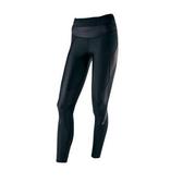 Mizuno BIOGEAR [A76BP-30090] 女款 機能 壓縮 壓力 緊身 全長 長褲 運動 慢跑 黑