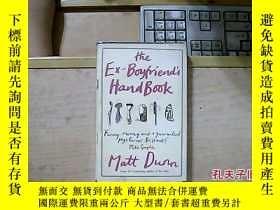二手書博民逛書店the罕見ex-boyfriend s handbook(英文