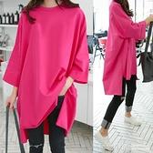 春夏裝新款韓版中長款洋氣減齡寬鬆百搭網紅半袖T恤女ins短袖上衣