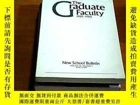 二手書博民逛書店The罕見Graduate Faculty1989--1990(