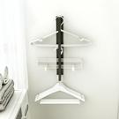 磁吸式洗衣機衣架置物架神器陽臺整理晾衣架夾子免打孔收納架 ATF 雙12鉅惠