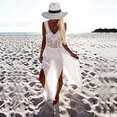 罩衫-雪紡夏季沙灘波希米亞風女防曬衣73mv2【時尚巴黎】