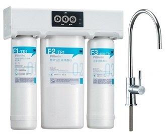 {3M} 專櫃TR1 無桶直出式RO純水機買就送第1 道/第2道★免儲水桶 直接輸出更衛生★免費到府安裝