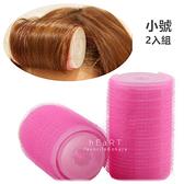 自黏式雙層捲髮器 小號2入組 捲髮器 捲髮 髮型用品