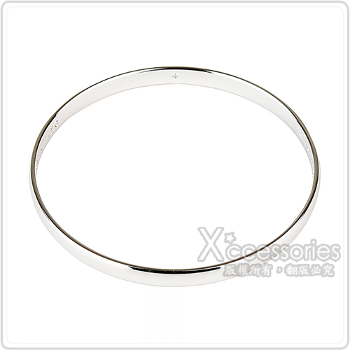 kate spade壓印LOGO簡約設計手環(銀)