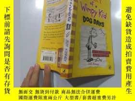 二手書博民逛書店Diary罕見of a Wimpy Kid 一個懦弱的孩子的日記。Y200392