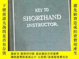 二手書博民逛書店key罕見to pitman s shorthand instr