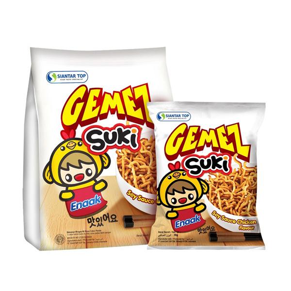 韓國 SUKI 韓式小雞麵(30gx3包)麵條粗版【小三美日】點心麵