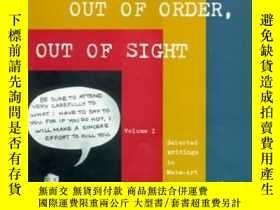 二手書博民逛書店Out罕見Of Order, Out Of SightY256260 Adrian Piper The Mit