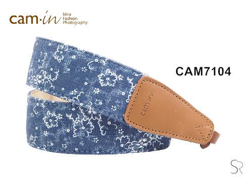 《 統勛.照相》Cam-in CAM7104 相機背帶 牛仔背帶系列 小碎花 牛仔系列