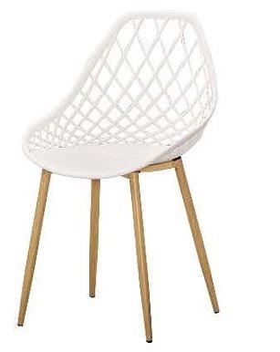 【南洋風休閒傢俱】餐椅系列- 奧多彩色pp塑料鐵管彩色餐椅 造型餐椅 彩色椅 CM1069-10-11-12