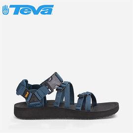 丹大戶外【TEVA】美國 女款 Alp Premier 經典設計織帶涼鞋 1015182 NAVY 海軍藍