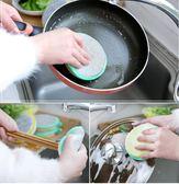 洗碗海綿洗碗刷鍋神器不傷鍋百潔布元寶巾廚房【極簡生活館】