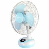 KINYO耐嘉 CF-1202 充電彩色風扇 充電式電風扇 小型電風扇 立扇 桌用電風扇 電風扇 【迪特軍】