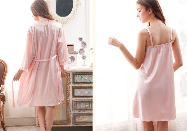 夏季新品純棉睡衣女甜美家居服全棉休閒夏天薄款套裝 -swe0022