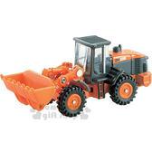 〔小禮堂〕TOMICA小汽車《橘.日立建機工程車.71》經典造型值得收藏 4904810-74231